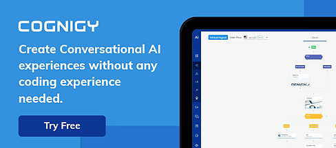 Cognigy.AI free trial signup