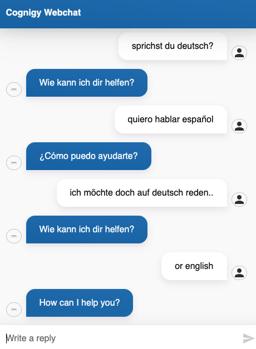 language detector