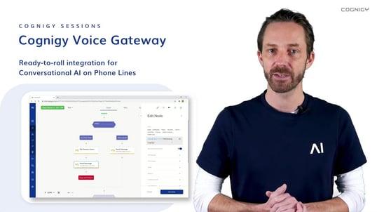 Cognigy Voice Gateway