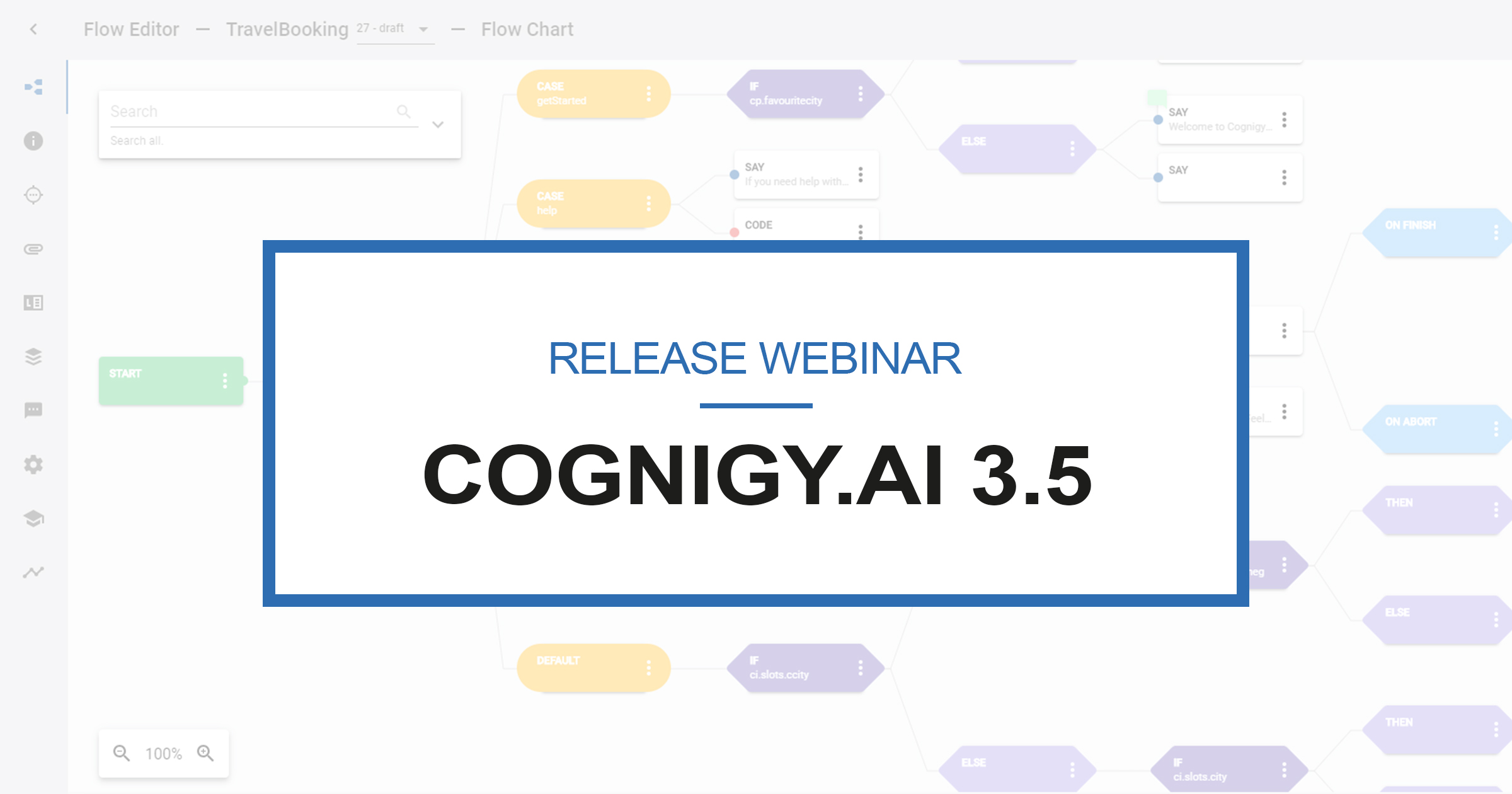 Cognigy.AI 3.5 - Release Webinar - Pre-Blog-Artikel