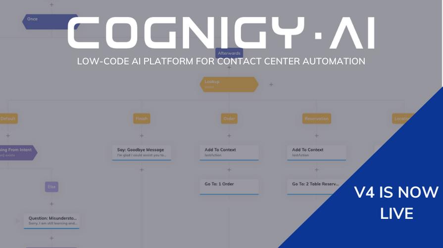 cognigy.ai v4 press release