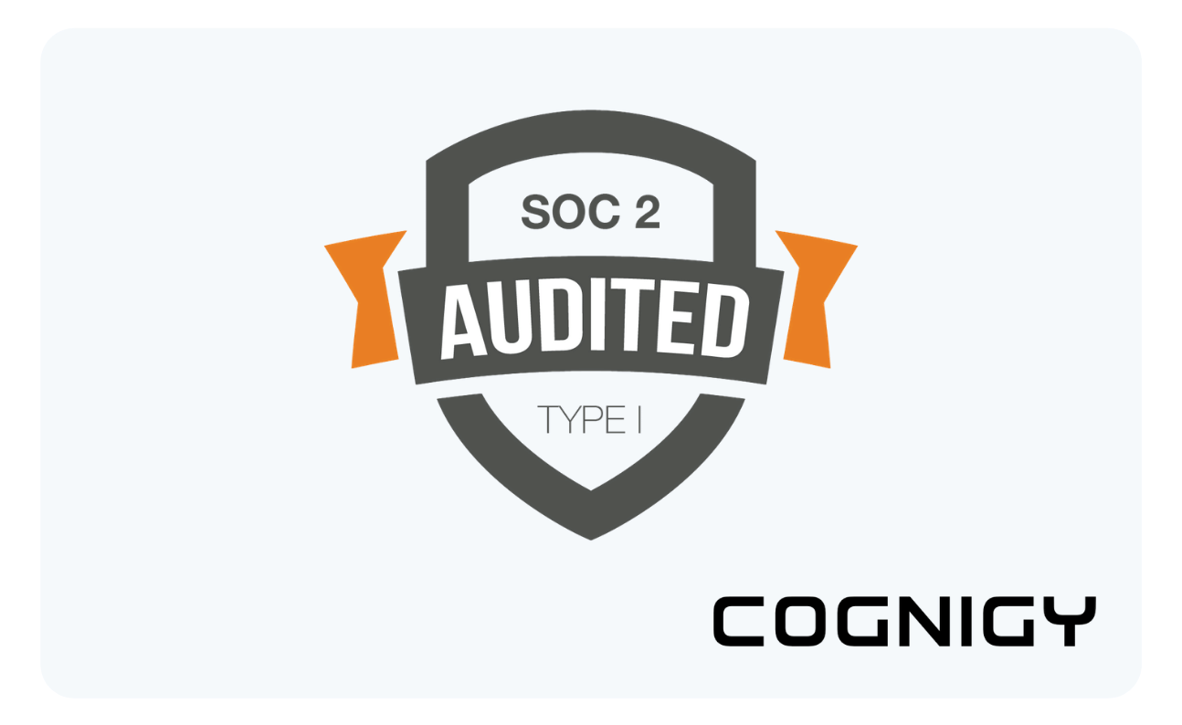 Slide with SOC 2 Badge