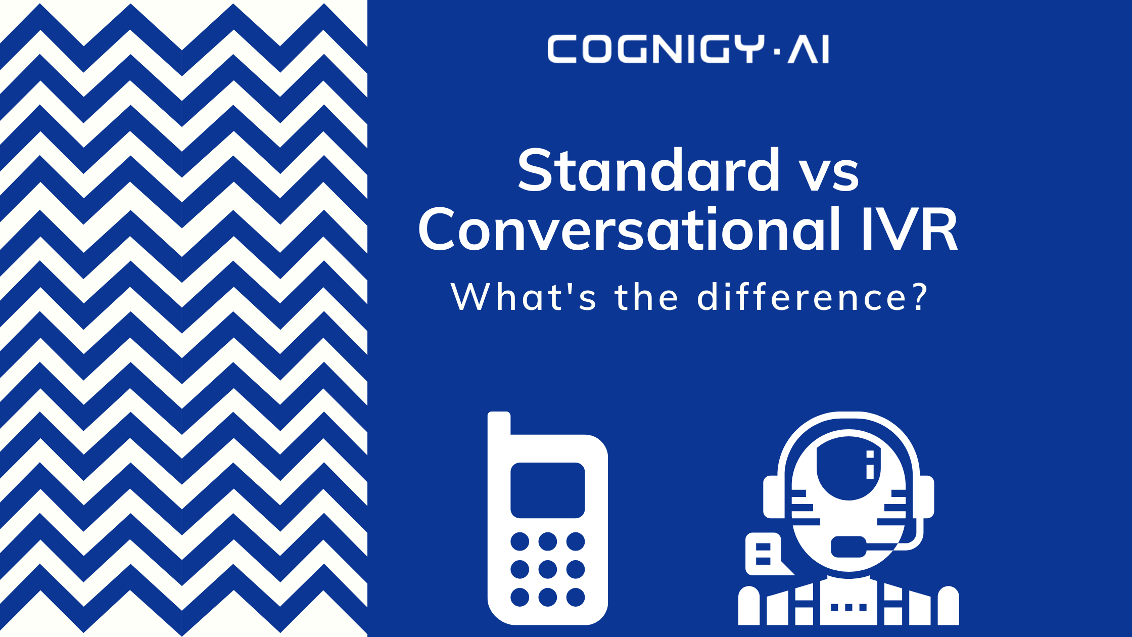 cover standard vs conversational ivr difference