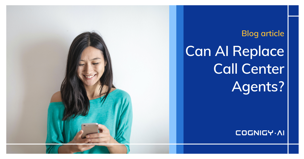 cover Can AI replace Call Center Agents