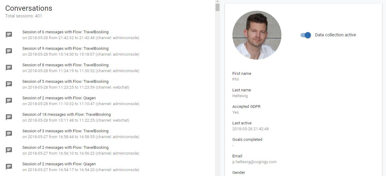 Contact Profiles, Personalization & GDPR
