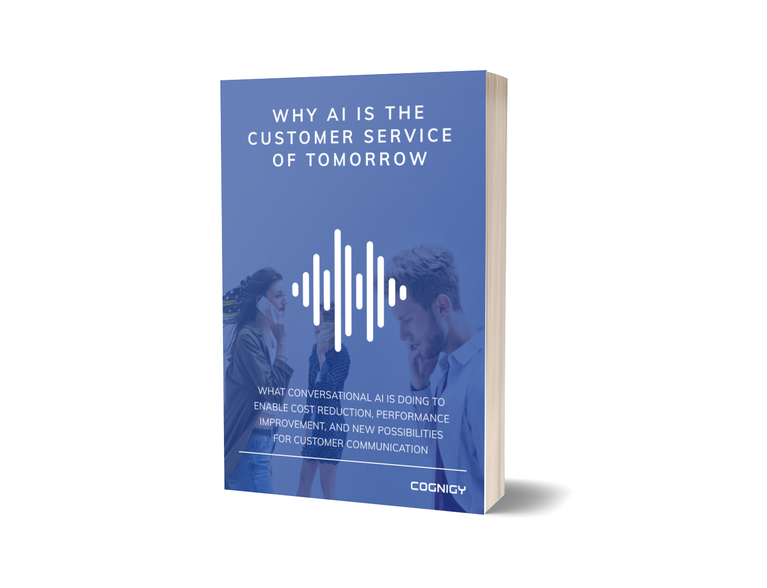 whitepaper cover why conversational ai customer service tomorrow